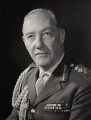 Sir Geoffrey Harding Baker, by Godfrey Argent - NPG x163831