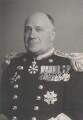 Sir Edward Wilfrid Harry Travis, by Walter Stoneman - NPG x165374