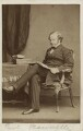 Granville George Leveson-Gower, 2nd Earl Granville, by John & Charles Watkins - NPG Ax16393
