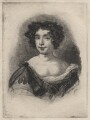 Catherine Sedley, Countess of Dorchester engraved as Nell Gwyn, by Charles William Sherborn, after studio of  Sir Peter Lely - NPG D21196