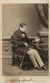 John Singleton Copley, Baron Lyndhurst, by Mayall - NPG Ax29646
