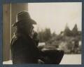 Robert Bridges, by Lady Ottoline Morrell - NPG Ax142576