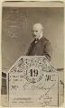 Sir George Scharf, by Ernest Edwards - NPG Ax29983