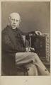 Sir George Scharf, by Ernest Edwards - NPG Ax29985
