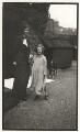 Catherine Colomb (Marion Reymond (née Colomb); Julian Vinogradoff (née Morrell), by Lady Ottoline Morrell - NPG x144208