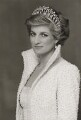 Diana, Princess of Wales, by Terence Daniel Donovan - NPG P716(13)