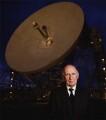 Sir (Alfred Charles) Bernard Lovell, by Edward Barber - NPG x127709