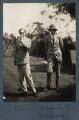 Edward Sackville-West, 5th Baron Sackville; Siegfried Loraine Sassoon, by Lady Ottoline Morrell - NPG Ax142581