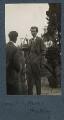 Leonard Sidney Woolf; Aldous Huxley, by Lady Ottoline Morrell - NPG Ax142582