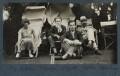 Dora Carrington; Stephen Tomlin; Walter John Herbert ('Sebastian') Sprott; Lytton Strachey, by Lady Ottoline Morrell - NPG Ax142600