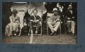 Dora Carrington; Stephen Tomlin; Lytton Strachey; Walter John Herbert ('Sebastian') Sprott, by Lady Ottoline Morrell - NPG Ax142601