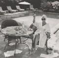 Joan Collins, by John Swannell - NPG P717(5)
