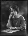 Ellen Cicely Wilkinson, by Bassano Ltd - NPG x127853