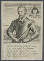 Christopher Carleill, by Robert Boissard, after  Unknown artist - NPG D21248