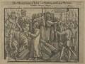 The Martyrdome of John Cardmaker and John Warne (John Cardmaker; John Warne (Warren)), after Unknown artist - NPG D21250