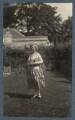 Junia von Anrep (née Yuniya Khitrovo), by Lady Ottoline Morrell - NPG Ax142606