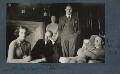 Julian and Philip Morrell with friends at Garsington, by Lady Ottoline Morrell - NPG Ax142780