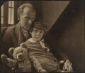 A.A. Milne; Christopher Robin Milne, by Howard Coster - NPG P715