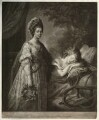 Sophia Charlotte of Mecklenburg-Strelitz, by Thomas Burke, after  Angelica Kauffmann - NPG D21301