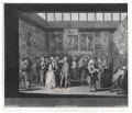 The Exhibition of the Royal Academy of Painting in the Year 1771, by Richard Earlom, after  Michael Vincent (or Charles) Brandoin - NPG D21302