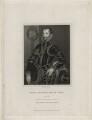 Walter Devereux, 1st Earl of Essex, by William Holl Sr, after  Unknown artist - NPG D21311
