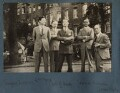 Siegfried Loraine Sassoon; Leopold Hamilton Myers; Hon. Robert Gathorne-Hardy; Jean de Menasce; James Stephens, by Lady Ottoline Morrell - NPG Ax142993