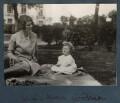 Julian Vinogradoff (née Morrell) with her daughter Anne Arianna Gallon (née Goodman), by Lady Ottoline Morrell - NPG Ax143205