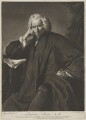 Laurence Sterne, by Edward Fisher, printed for  Robert Sayer, after  Sir Joshua Reynolds - NPG D21363