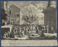 'The South Sea Scheme', by William Hogarth - NPG D21368