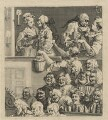 'The Laughing Audience (or A Pleased Audience)', by William Hogarth - NPG D21377