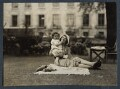 Philip Henry Russell Goodman; Julian Vinogradoff (née Morrell), by Lady Ottoline Morrell - NPG Ax143443