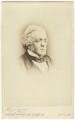 William Makepeace Thackeray, by (George) Herbert Watkins - NPG Ax17293