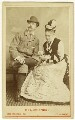 William Hunter Kendal (William Hunter Grimston) and Madge Kendal in 'Mont Blanc', by London Stereoscopic & Photographic Company - NPG Ax25049