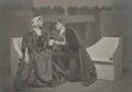 Lillah McCarthy; Sir Godfrey Seymour Tearle in 'The Sentimentalists', by E.O. Hoppé - NPG x128123