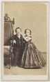 General Tom Thumb (Charles Sherwood Stratton); Mrs Tom Thumb (Lavinia Warren), by Charles DeForest Fredricks & Co - NPG Ax25100