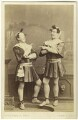 Charles Webb; Henry Berry Webb as the Dromio Twins in 'The Comedy of Errors', by Southwell Brothers - NPG Ax25101
