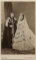 King Edward VII; Queen Alexandra, by John Jabez Edwin Mayall - NPG Ax24156