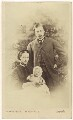 Queen Alexandra; Prince Albert Victor, Duke of Clarence and Avondale; King Edward VII, by Vernon Heath - NPG Ax24189