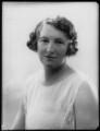 Alice Maud Mary (née Bretherton), Lady Fletcher, by Bassano Ltd - NPG x124461