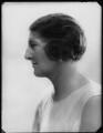 Alice Maud Mary (née Bretherton), Lady Fletcher, by Bassano Ltd - NPG x124462