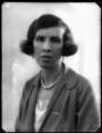 Clare Meriel Chichester (née Wingfield), Lady Templemore, by Bassano Ltd - NPG x124466
