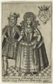Robert Carr, Earl of Somerset; Frances, Countess of Somerset, by Michael Vandergucht - NPG D21403