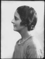 Isabella (née Nairn), Lady Thomson-Walker, by Bassano Ltd - NPG x124486