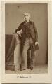 George John Sackville-West, 5th Earl De La Warr, by Caldesi, Blanford & Co - NPG Ax16240