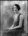 Mary Frances Katherine Dent, 19th Baroness Furnivall, by Bassano Ltd - NPG x124572