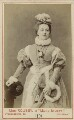 Clara Marion Jessie Rousby (née Dowse) as Mary Stuart in 'Mary Queen of Scots', by London Stereoscopic & Photographic Company - NPG Ax18160