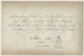 Verse by William Pitt, 1st Earl of Chatham, after William Pitt, 1st Earl of Chatham - NPG D21413