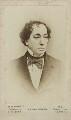 Benjamin Disraeli, Earl of Beaconsfield, printed by Henry Lenthall, after  William Edward Kilburn - NPG Ax17734