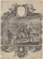 Henry Lascelles; Jane (née Lane), Lady Fisher; King Charles II, probably by or after Stefano della Bella - NPG D21417