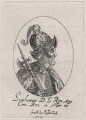 Fictitious portrait called King Stephen, published by Sir Robert Peake, probably after  William Faithorne - NPG D21425